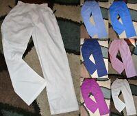 Landau Classic Relaxed Elastic Scrub Pant side pocket Style 8327 Sz XS to L
