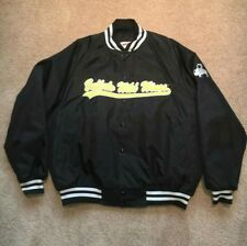 Vintage 90s Buffalo Wild Wings Button Up Varsity Jacket Made In USA Size XL Rare