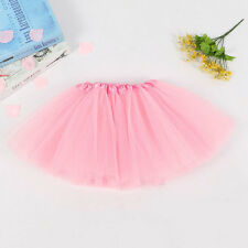 Children Girl Tutu Skirt Kids Ballet Dance Pettiskirt Baby Princess Bubble Skirt