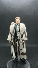 Star Wars Kenner Han Solo Toy Figure Trench Coat Blank Lapels 1984 No COO