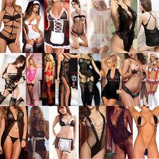 Sexy/Sesso Donna Babydoll Lingerie Biancheria Abbigliamento Notte Intima Perizom