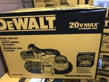DEWALT DCS371P1 20V MAX Lithium Ion Band Saw Kit  with 5.0 Ah XR Battery B/NEW