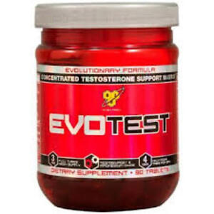 BSN EvoTest Tabslets 48ct Bottle - Libido and Test Booster  Nitrix NO Xplode DAA