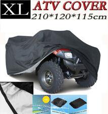 XL Black Waterproof ATV Quad Bike Cover for Grizzly YFM 350 125 550 700 80 4x4