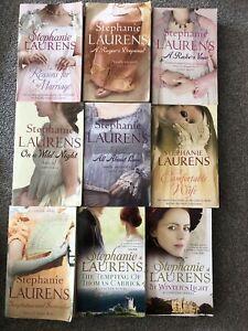 Stephanie Laurens 9 books