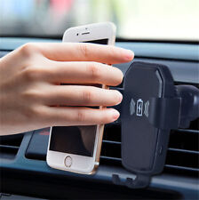 5W Qi Wireless Car Gravity Charger Holder Air Vent Mount For iPhone XS Max XR X