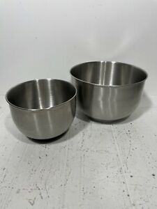 Sunbeam Mixmaster S Series & Legacy Edition Large Small Mixing Bowls Stainless