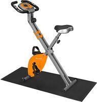 Bicicleta Estática, Bicicleta Fitness, Entrenador Plegable Indoor, 8 Niveles