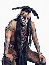 "Johnny Depp Tonto The Lone Ranger  8.5 x 11"" Photo Print"