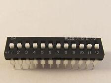 5 Stück ADE12 - ALCO 12pol DIP-Schalter  (AE19/8878)