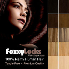 Clip In Hair Extensions 100% Remy Human Hair Full Head