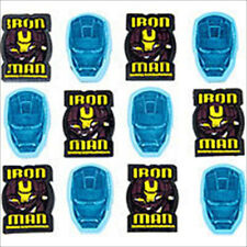 IRON MAN 2 ERASER VALUE PACK (12) ~ Birthday Party Supplies Stationery Favors