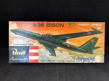 Revell IL-38 Bison Russian Bomber Plastic Model Kit H-235 (1956) with Box