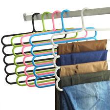 Multi-function Wardrobe Hanging Pants Racks Scarves Tie Space Saving Hanger
