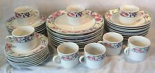 Lovely 40 Piece Royal Norfolk Dinner Dining Set With Floral Pattern