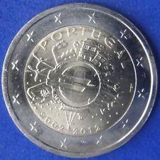 """PORTUGAL -  2 EUROS 2012 Gedenkmünzen   """" 10 Jahre Bargeld """"  UNC"""