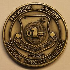 18th Intelligence Sq Air Intelligence Agency AIA NSA Air Force Challenge Coin