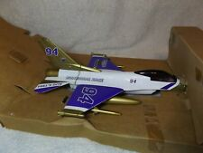 VINTAGE DIECAST BANKS--F16 FALCON FIGHTER JET-BRICKYARD 400-1/32TH-RACING CHAMPS