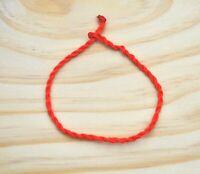Pulsera hilo rojo amuleto suerte proteccion hombre mujer nueva regalo moda