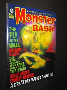 MONSTER BASH # 21 FLY ON THE WALL HORROR MAGAZINE GREAT CONDITION
