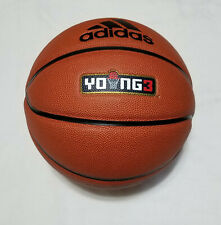 """Adidas Young 3 Official Game Ball Basketball 29.5"""" ( Size 7 ), New, Ek1315"""