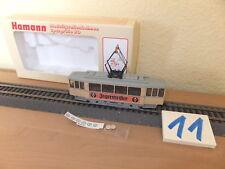 Hamann Strassenbahn Aufbautyp Frankfurt K Triebwagen Jägermeister NEU OVP Roco
