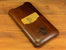 Case for Iphone 6s 6 Handmade Leather Cover Sleeve Pouch Holder Card Pocket