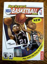 New Backyard Tim Duncan NBA Basketball Pro Players Kids For PC Game+Others