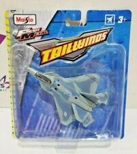 2018 Maisto Tailwinds F-22 Raptor Fresh Metal NEW