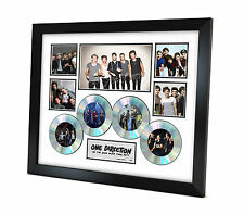 One Direction (1D) - Signed Memorabilia - Limited Edition Certificate - Framed C