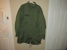 Vintage 70s US Army Military M1951 Fishtail Parka Extreme Cold Weather Jacket M