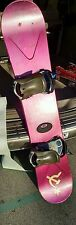 Sims Project Hex 153 Snowboard with Salomon Bindings. snow winter sports