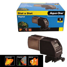 Aqua One Pond Automatic Timer Digital Fish Tank Food Auto Feeder Dispenser LCD