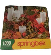 Christmas Colors 1000 Piece Springbok Jigsaw Puzzle New Sealed