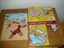 Barbie - Buch mit 3-D Puzzle (35 Puzzleteile) + Brille - Rettungsschwimmerin