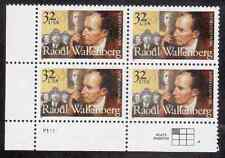 Scott  #3135...32 Cent...Raoul Wallenberg... Plate Block