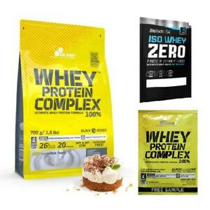 OLIMP Whey Protein Complex 100% (WPC + WPI) 700g FREE SHIPPING