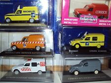6 X 1:43 francés años 70 Vans Renault 4 Citroen Acadiane Dyane 2CV FOURGONNETTE visa
