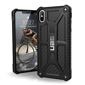 "UAG Monarch Case for iPhone X / XS 5.8"" -  Black Carbon Fiber"
