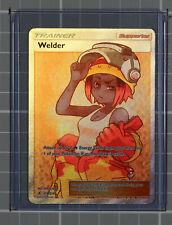 New listing Pokemon Sun and Moon Welder Full Art Ultra Rare Trainer Card Nm/M