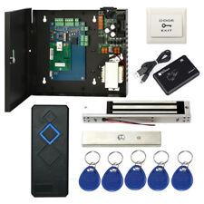 Single Door TCP/IP Access Control System Kit & 600lbs Magnetic Lock +RFID Reader