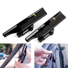 Black Wiper Stand Car Windshield Wiper Mate Wing Blade Strut Prop Accessories 2x