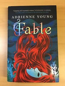 'Fable' Adrienne Young | Fairyloot Exclusive, signed, sprayed edges | LIKE NEW