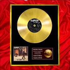 RANCID LIFE WON'T WAIT  CD  GOLD DISC VINYL LP