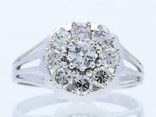 Vintage anillo 1,55 quilates brillante 585 oro 14 quilates