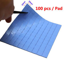 100mmx100mmx0.5mm Silicone Pad GPU CPU Heat Sink Heatsink Thermal Conductive Gel