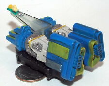 Small Micro Machine Plastic Star Wars Pod Racer with Blue & Green Engines