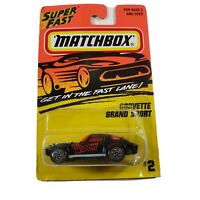 MATCHBOX SUPERFAST PREMIERE WORLD CLASS WH #4 CORVETTE GRAND SPORT 1 OF 25,000