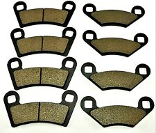 Front & Rear Brake Pads  For POLARIS RZR 800 EFI (2008-2014)