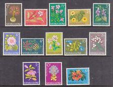 Sierra Leone 1963 Definative Flower set MLH